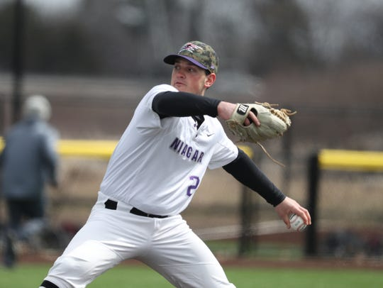 Cody Eckerson of Palmyra is Niagara University's all-time