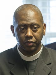 The Rev. Charles Harrison of the Ten Point Coalition said the flood of illegal handguns is a key issue in Indianapolis' spate of violence. Harrison is shown at a meeting about the Your Life Matters initiative in April 2015.