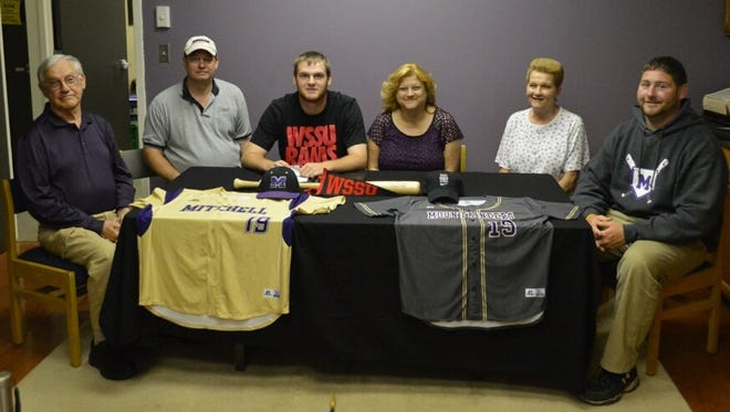 Mitchell senior Dylan Forbes has signed to play college baseball for Winston-Salem State.