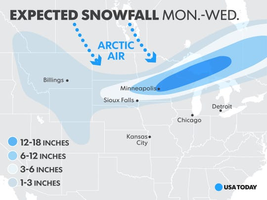 Source AccuWeather, As of Nov. 10.