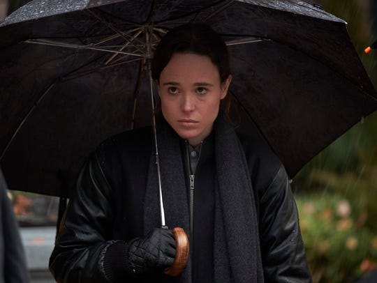Ellen Page stars as the nonpowered family member of