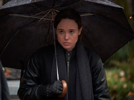 """Ellen Page stars as the nonpowered family member of """"The Umbrella Academy."""""""
