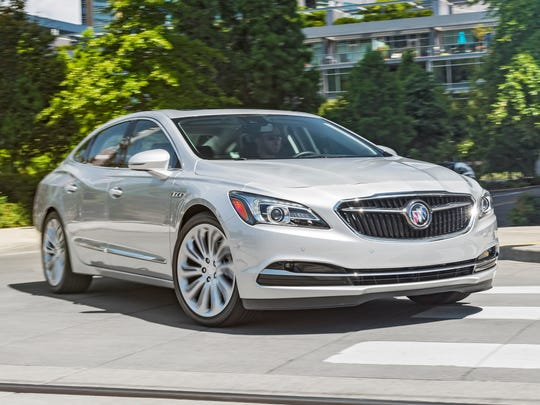 Consumer Reports blamed the redesigned Buick LaCrosse for Buick's slip in reliability ranking.