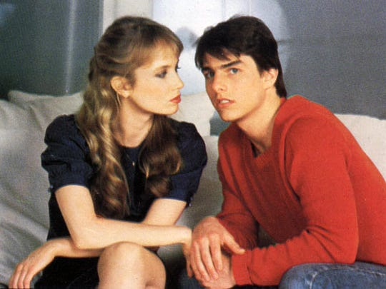 """""""Risky Business"""" (1983) was a major career move for both Rebecca De Mornay and Tom Cruise."""