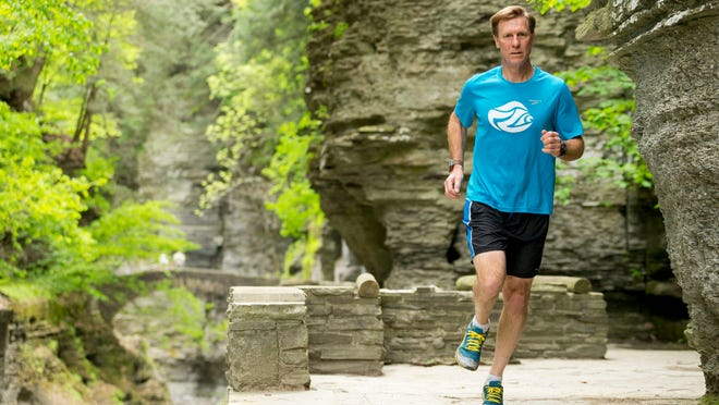 Charlie Trautmann, of Ithaca, the executive director of the Sciencenter, will be running his first 50 mile race at the Cayuga 50.