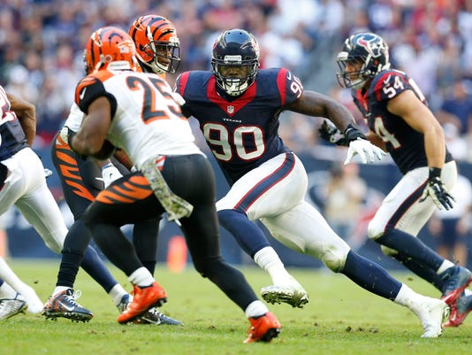 NFL: Cincinnati Bengals at Houston Texans