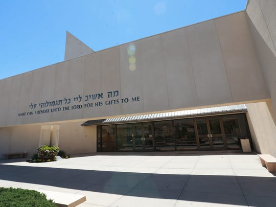 Congregation B'Nai Zion, at 805 Cherry Hill Lane, is