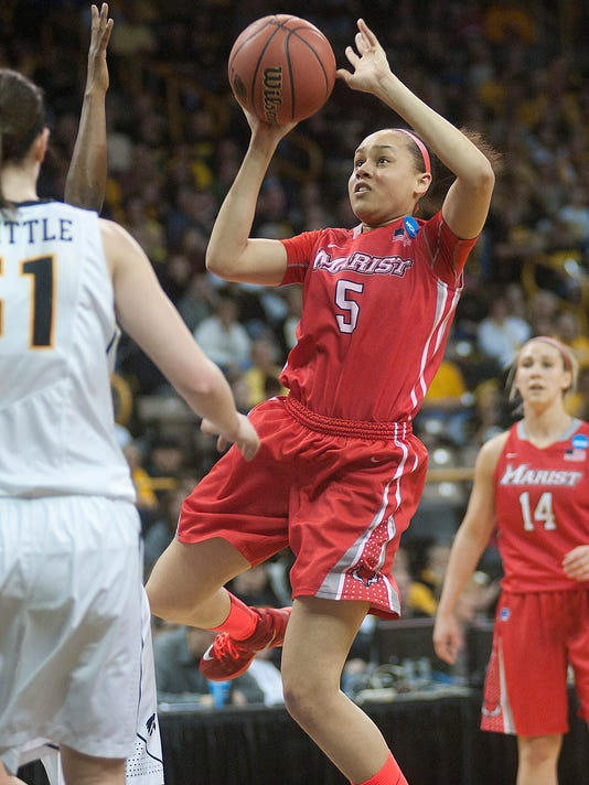 NCAA Womens Basketball: NCAA Tournament-1st Round-Iowa vs Marist