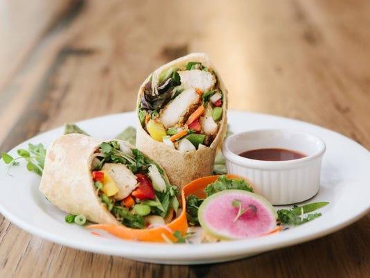 Chef's Sesame Chicken Wrap, Photo Credit Daniel Walley Photography.jpg