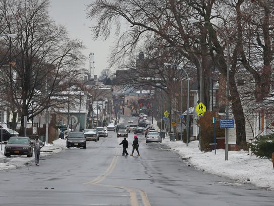 Webster Avenue in Rochester's Beechwood neighborhood.