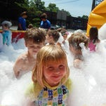 Bubble bliss at Smiley Camp this week