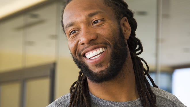 Arizona Cardinals WR Larry Fitzgerald held his Football ProCamp on May 10, 2015.