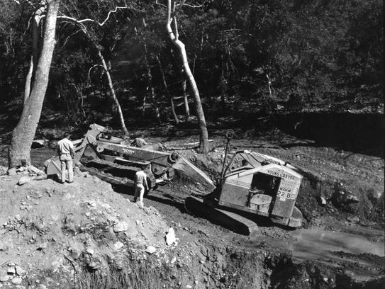 The Army commissioned a $10,000 excavation in February,