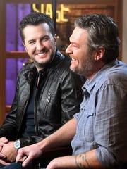 "Blake Shelton is interviewed by ""Access Hollywood"""