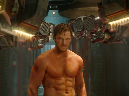 This image released by Disney-Marvel shows Chris Pratt