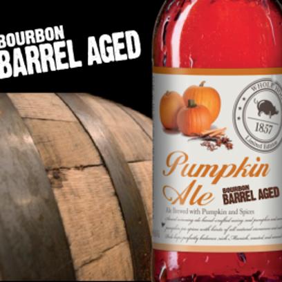 Whole Hog Bourbon Barrel Pumpkin Ale unveiled
