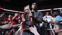 The NCAA requires the return of trophies and removal of banners associated with 123 vacated victories.