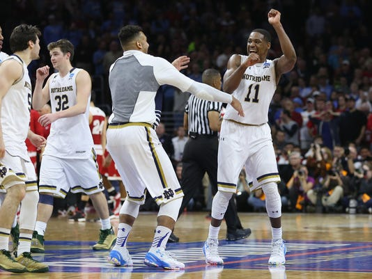 NCAA Basketball Tournament - East Regional - Wisconsin v Notre Dame