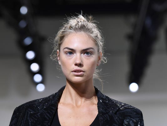 a91e3c7b3c6 AFP AFP SE2B6 E FAS USA ST. Model Kate Upton walks the runway for the  Michael Kors Collection Spring 2018 Runway Show during New ...