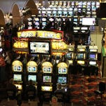 Slot machines at Prairie Meadows Racetrack and Casino.
