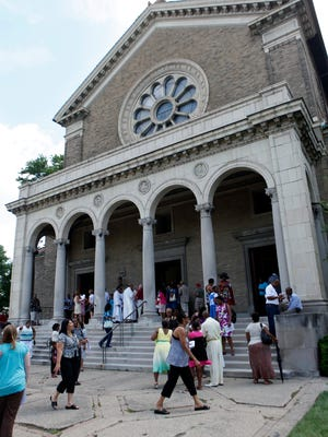 The Evanston Community Council and a local nonprofit are seeking to purchase the historic St. Mark Catholic Church at 3500 Montgomery Road.