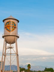 The iconic Warner Bros. water tower signals summer fun.