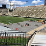 Kinnick Stadium prepares for Back Porch Revival concert