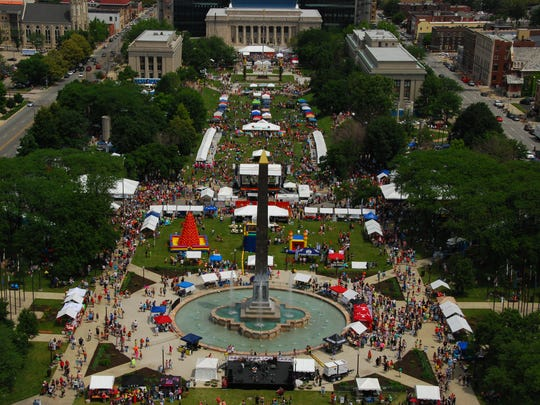 The Circle City IN Pride Fest is expected to draw nearly 100,000 visitors, nearly five times the attendance in 2005, to the American Legion Mall on June 13.