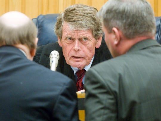 Knox County Criminal Court Judge Richard Baumgartner,