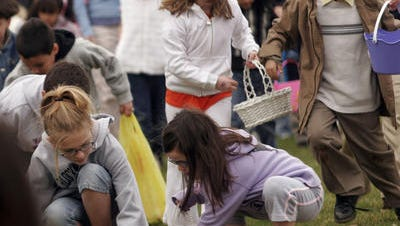 There are plenty of Easter egg hunts, as well as other Easter-themed events, to keep the children hopping.