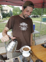 Try a La Terza coffee at Hyde Park farmers market.