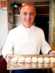 As part of the all-star team of Southwest Florida chefs, Chef Fabrizio Aielli of Sea Salt in Naples presented a hors d'oeuvre of Murray River Salt macaroon with Florida spiny lobster and foie gras at the James Beard House on Oct. 2.