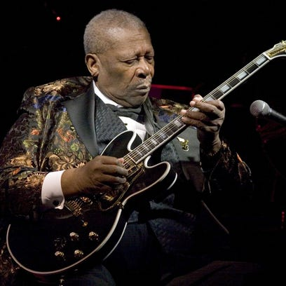 Blues Legend B.B. King performs his 10,000th concert