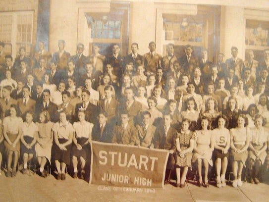 Stuart Junior High School in Washington, D. C., February