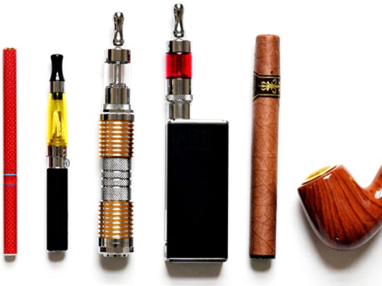 E-cigarettes and similar devices come in a variety of styles including those that look like cigarettes or pens and others that look like pipes. The FDA calls all of them electronic nicotine delivery systems.