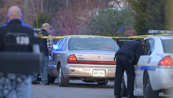 One suspect was killed and three others were apprehended Friday in Antioch after a police pursuit involving a stolen car.