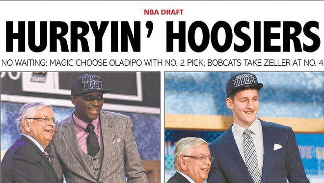 IU's Victor Oladipo (second) and Cody Zeller (fourth) were high draft picks in 2013. Where would they go today?