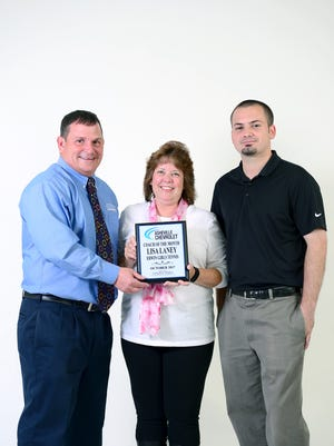 Erwin High School girls tennis coach Lisa Laney is the coach of the month for October.