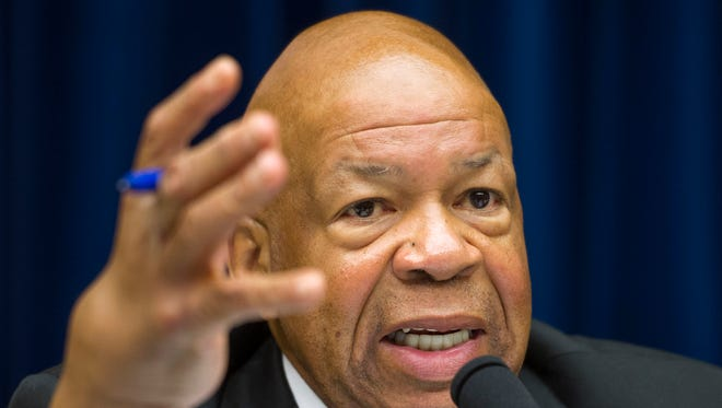 Rep, Elijah Cummings, D-Md., ranking member on the House Oversight and Government Reform Committee.
