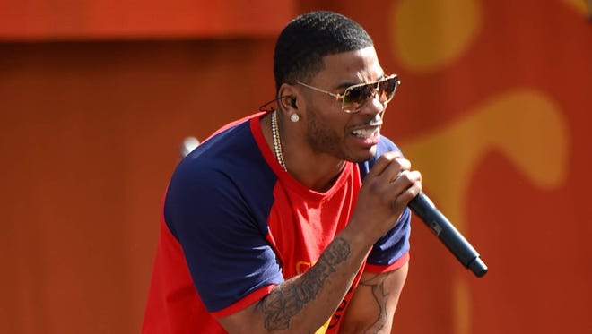 Nelly will perform Sept. 8 at Indianapolis Motor Speedway.