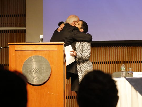 Incoming Ithaca College President Shirley M. Collado