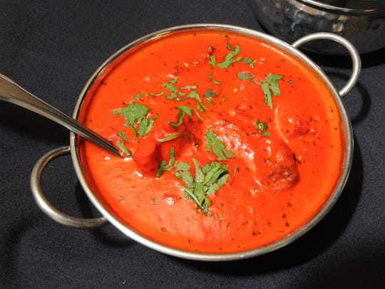 Chicken Tikka Masala is one of many dishes served at
