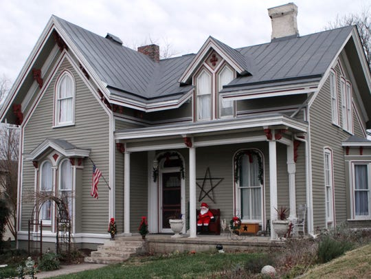 This Dog Hill home, circa 1840 is one of the oldest