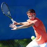 NJSIAA boys tennis championships at Mercer County Park Tennis Center
