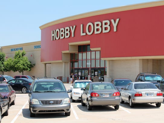 The Hobby Lobby chain of craft stores, such as this