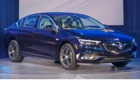 The 2018 Buick Regal Sportback