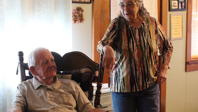 For Valentine's Day, we'll introduce you to Charles and Doris Dowdy, who have been married long enough to have forgotten about their anniversary.