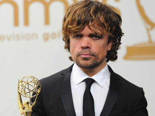 "Morristown's Peter Dinklage, star of ""Game of Thrones,"" at the 2011 Emmy Awards."