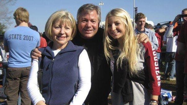 An undated family photo of Charlene and Robert Spierer with their daughter Lauren. Indiana University student Lauren Spierer, of Edgemont, N.Y., has been missing from Bloomington, Ind., since June 3, 2011.