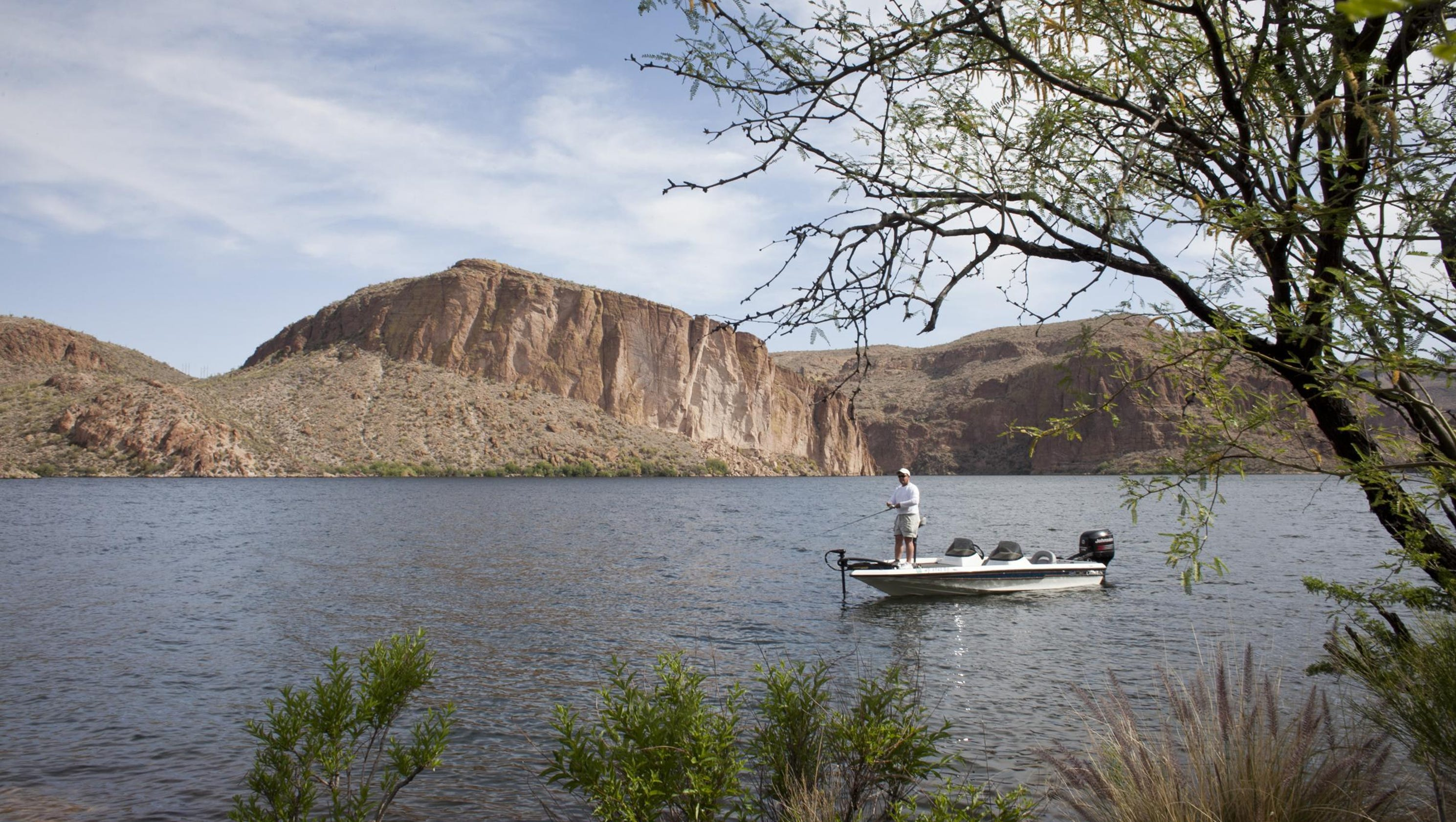 Arizona fishing report 2017 for Fishing lakes in arizona